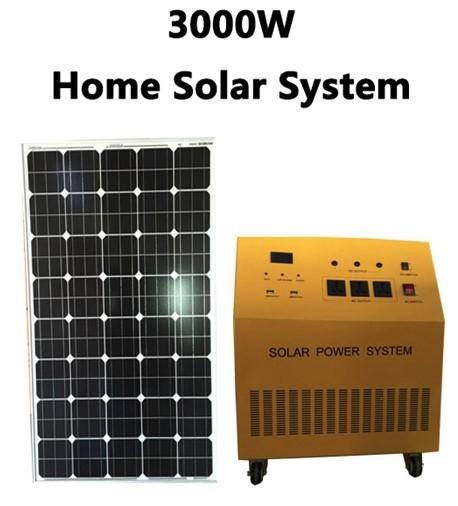 3000w Home Solar System