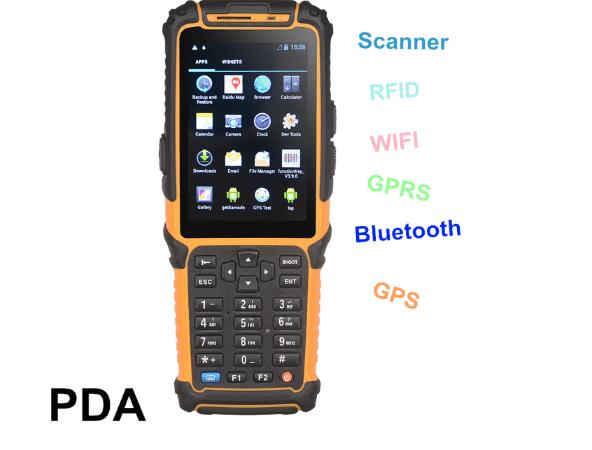 Dispositivo celular robusto PDA