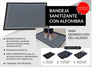 alfombra desinfectante